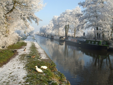 Top 10 Christmas breaks on the canals
