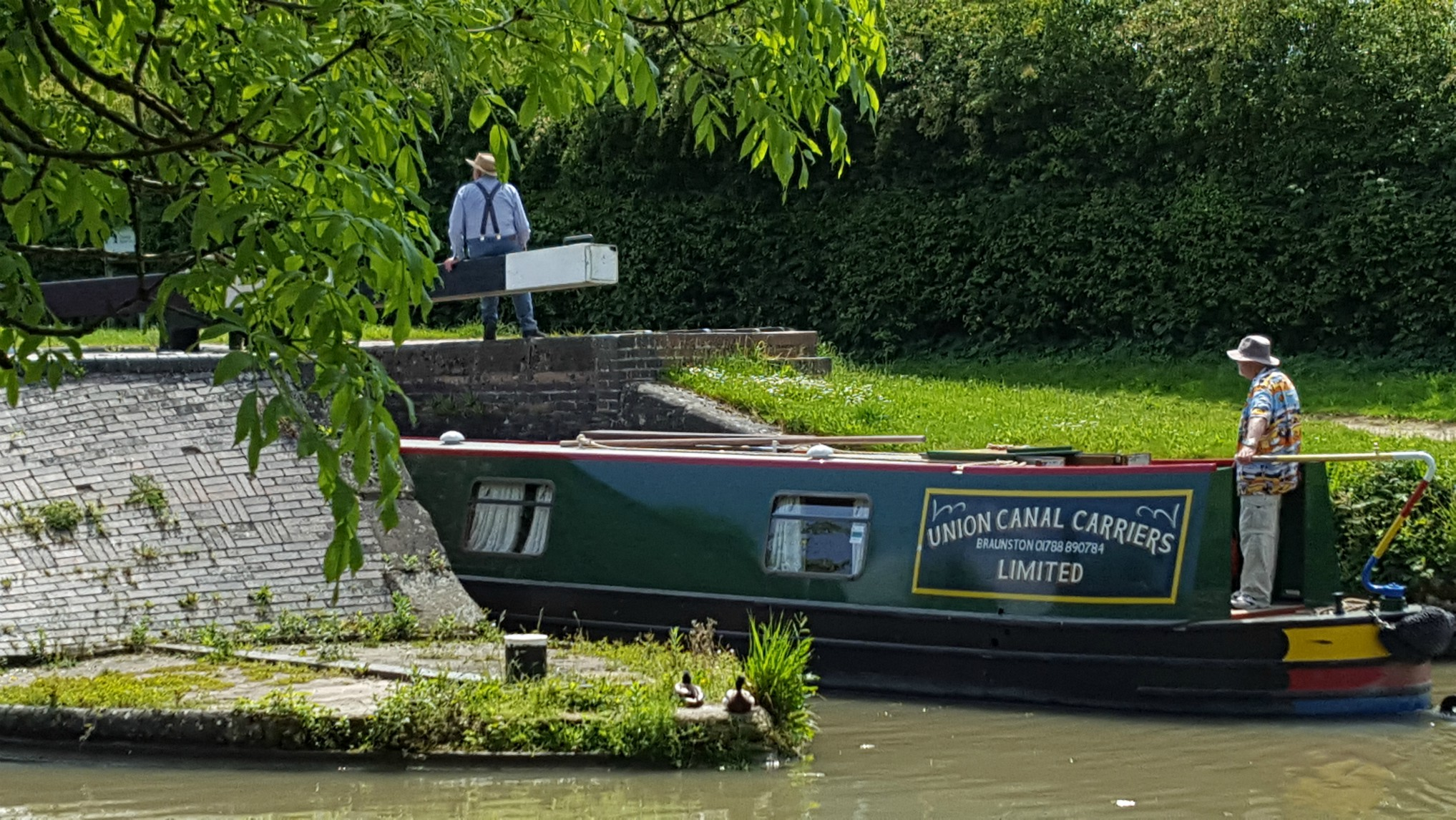Union Canal Carriers celebrates 50 years afloat