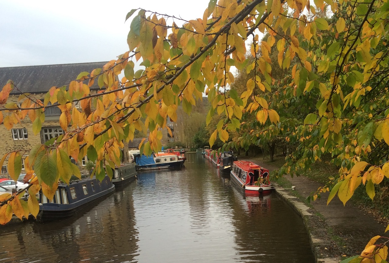 All aboard for autumn afloat on the canals