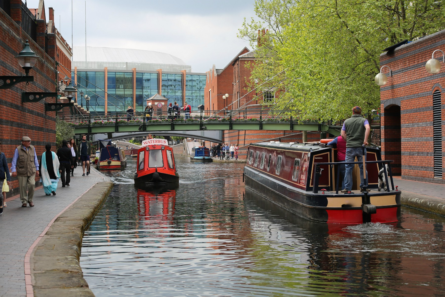 Visit Birmingham's Book Festival Afloat