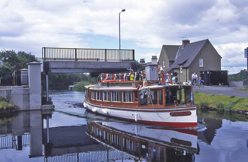 Bonnybridge lift bridge - Union Canal