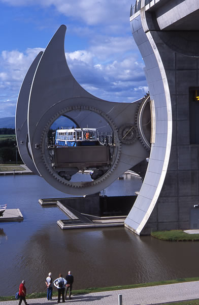 Falkirk Wheel - Forth & Clyde Canal