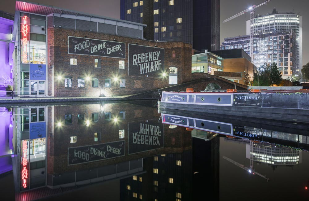 Take a Canal Boat Holiday to Birmingham