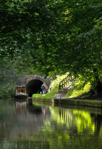 Northern England canal map