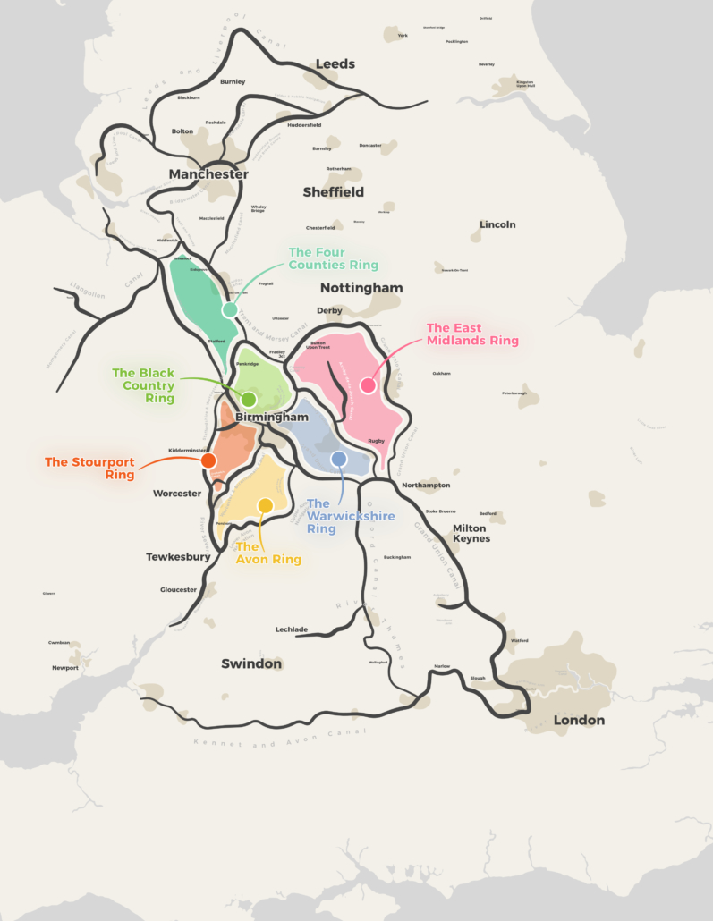 UK Canal Map